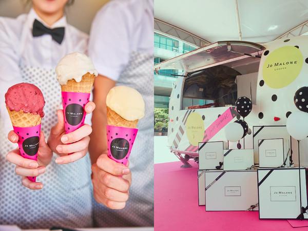 來嚐一球Jo Malone「英國梨與小蒼蘭」冰淇淋吧!巡迴全台時間表公開