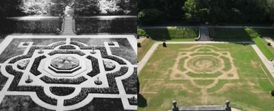 熱浪襲擊!英國衛星圖變色 一世紀神秘莊園「意外現蹤」