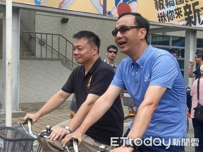 取經「姐夫」朱立倫   高思博嘆:新北13座運動中心、台南1座還沒蓋好