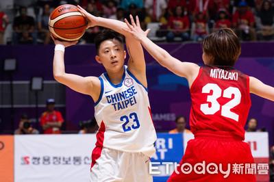 亞運女籃/隊史5度銅牌戰對日本 中華隊已吞3連敗