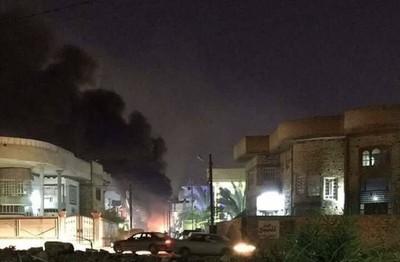 激進射迫擊炮「轟美國大使館」 《華爾街日報》:美國考慮攻打伊朗