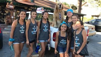 出巡+吃零食!黃金獵犬成功連任鎮長 競選對手是14隻狗2隻貓
