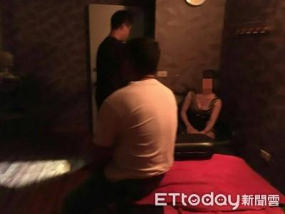 台南養生會館「做半套」 警破門查獲4男13女