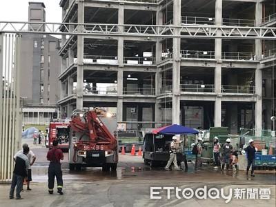 快訊/敦化北路一處工地1工人墜2樓高 頭、腿部撕裂傷