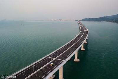 建台海通道很有信心!港珠澳大橋總設計師:有能力解決技術問題