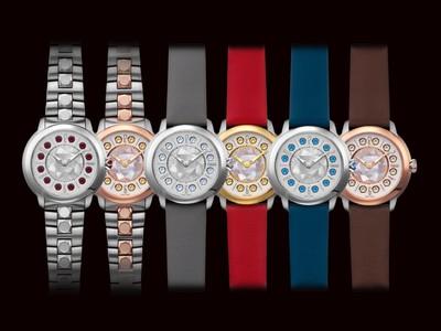 快來客製化專屬FENDI錶 連「旋轉寶石」顏色都能自訂