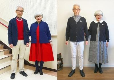 日本銀髮夫妻結婚38年仍甜蜜 IG分享穿搭與夫妻相處之道