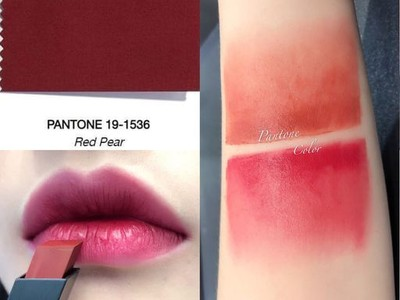 Pantone公布秋冬流行色 下支唇膏就買「英式裸粉」、「誘惑紅梨」