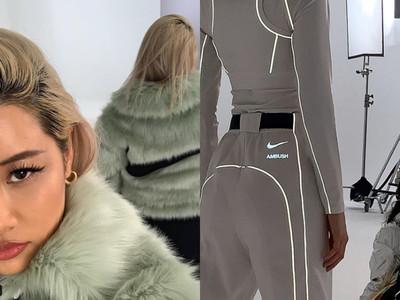 AMBUSH x Nike聯名曝光!大LOGO皮草、反光運動褲有夠潮