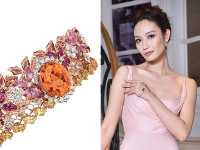 妳聽過「手掌鍊」嗎?Dior把珠寶變蕾絲 環著4指好耀眼