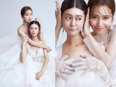 Lulu&白癡公主挺A罩杯穿婚紗 小胸美女仙氣照樣100分