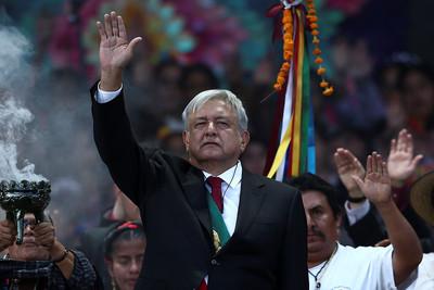 70年來首位左派總統 羅培茲宣誓打擊貪腐翻轉墨西哥