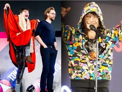 伊薩米勒穿猿人迷彩致敬日本潮牌 見偶像洛基太興奮