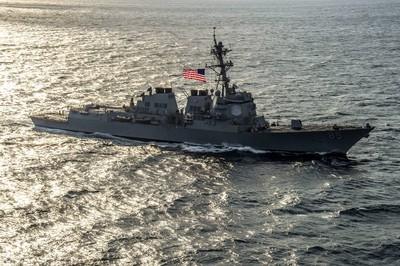 美神盾艦進入「彼得大帝灣」自由航行 貼近俄太平洋艦隊基地