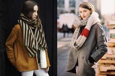 英倫格紋、華麗印花 冬天必備5款圍巾,對抗寒流脖子也要很時尚