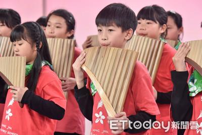東森送愛到部落 學習排笛、直排輪讓偏鄉學童活出精彩