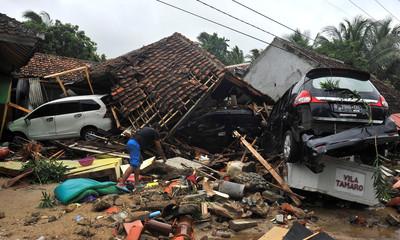 200人音樂會慶年終「遇海嘯死劫」!印尼電力公司35員工死亡