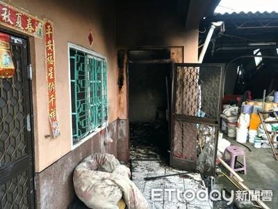 悲劇! 媳婦燒垃圾桶雜物引發火警 公公燒死床邊