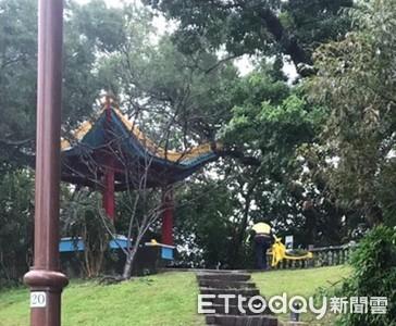 南港公園驚見男子上吊現場留遺書 嚇壞晨運民眾