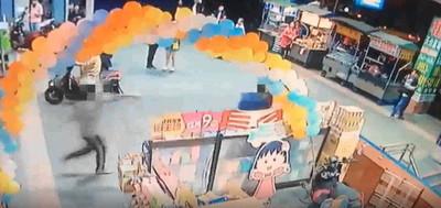 三重男被問「錢不夠付嗎」撞胸刺5刀 19歲店員全身血追500公尺倒地