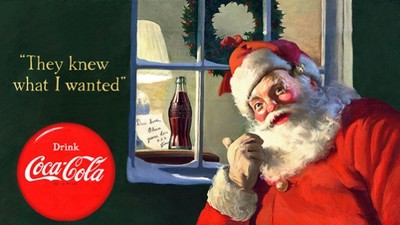 為何聖誕老人穿紅衣? 揭密原因竟和「可口可樂」有關!