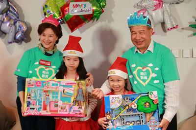 聖誕圓夢有洋蔥!善心人「以父之名」將孩子們的心願全包了