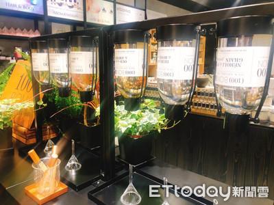 享受香水填裝樂趣!100 BON複製法國總店「香水吧」概念來台