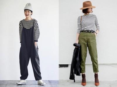 「黑白條紋衫」是暖冬最佳單品!搭配四款長褲顯瘦又減齡