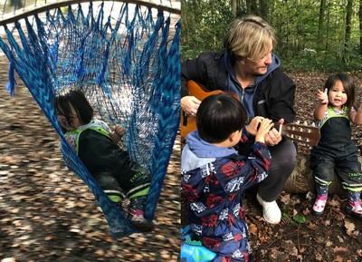 遠離iPad!托兒所野放2~5歲孩到森林 自己劈柴、覓食活下去