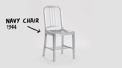 LIFE・經典/蝙蝠俠、威爾史密斯都坐過 耐用到公司快破產的「海軍椅」