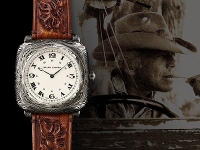 風.LUXURY/Ralph Lauren「手工靠墊錶」 暗藏50年的愛