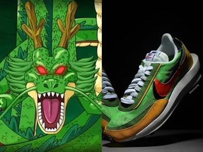 愛迪達七龍珠沒人搶 那這雙Nike「神龍」配色你買單嗎?