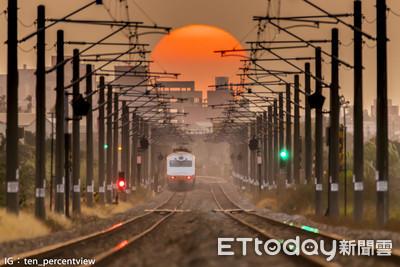 快訊/拍「鐵軌夕陽」被轟違規 警傳喚「雲科男」依鐵路法處理