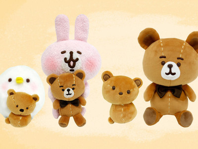 卡娜赫拉P助做了泰迪熊真的在賣!歪七扭八隨便縫但超可愛