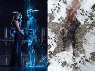 畫師預測《復仇者聯盟4》大結局 鋼鐵人獨留小辣椒、美國隊長倒地慘死