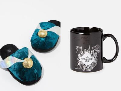 《哈利波特》聯名居家小物!「金探子室內拖、魔法馬克杯」必須收
