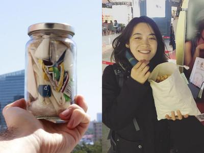 27歲女孩辭職過「零浪費生活」 三年沒買新衣、垃圾只有兩罐