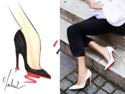 懂・時尚/Christian Louboutin紅底鞋傳奇 歸功上班族的化妝品