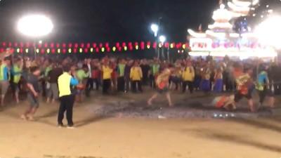台南北極殿建醮過火「信徒倒了撞一團」 24人燙傷