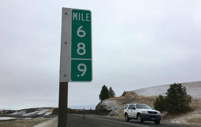 「69英里」標誌狂被偷!美國州政府發揮創意「用這招」抗竊賊