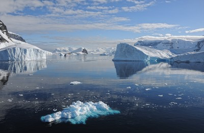 南極融冰近40年增加6倍 2100年海平面預估上升1.8米
