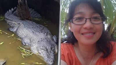 餵5公尺巨鱷自己被生吃 印尼女科學家慘遭咬掉半邊身