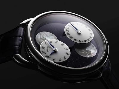 SIHH 2019/愛馬仕月相錶「會轉動」! 每天是奇幻時空旅行