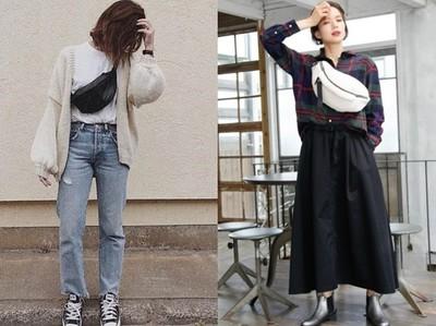 「腰包」3種個性穿搭學起來 讓冬季衣著不無聊