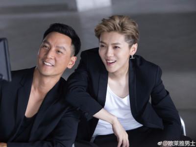 44歲吳彥祖打趴28歲鹿晗 外國網友:沒說還以為右邊是女人