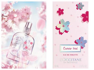 歐舒丹推出虹彩櫻花香水 柔美瓶身飄仙氣
