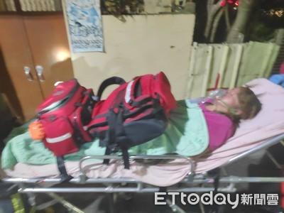 寒夜彰化民宅火警1婦嗆傷 1消防員也受傷