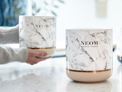 凱特愛牌Neom推大理石蠟燭 絕美香氛讓嗅覺、視覺超滿足