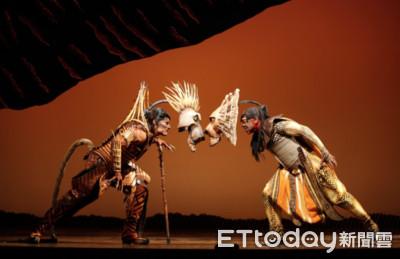 直擊百老匯音樂劇《獅子王》後台! 服裝道具秘密大公開