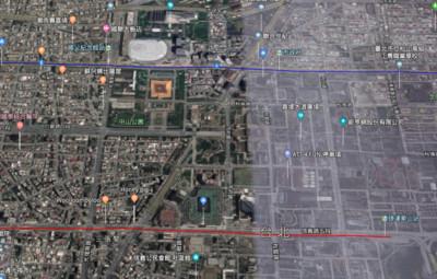 外洩國防機密 Google地圖3D城市台灣全面下架
